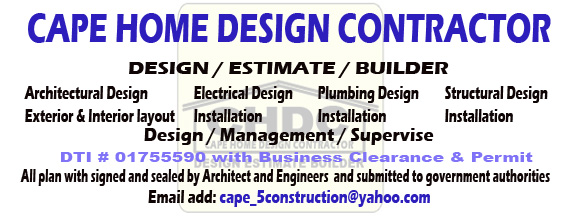 House Contractor And Design Development Philippines Complete Design