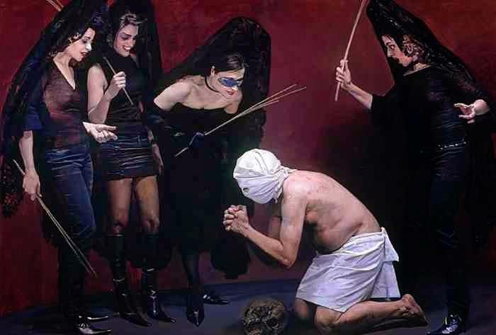 Испанский художник. Andres Garcia Ibanez