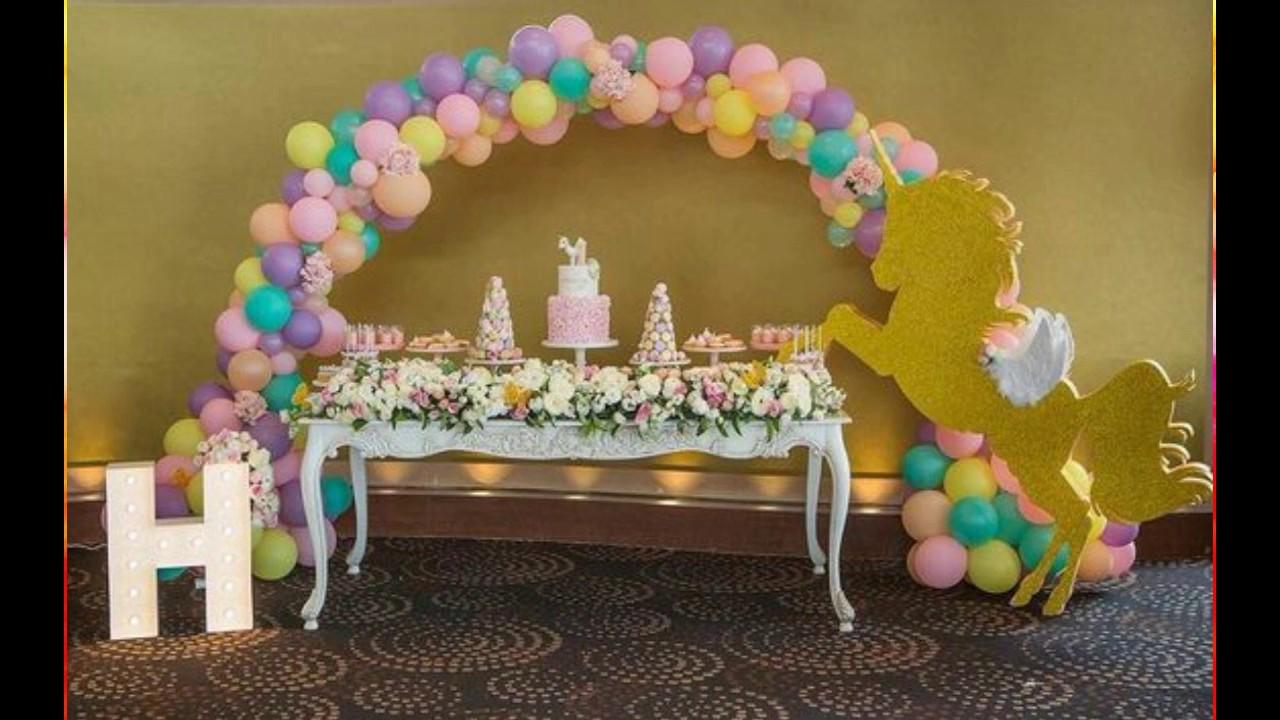 Mundo de unicornios decoracion de fiestas de unicornios for Decoracion para pared de unicornio