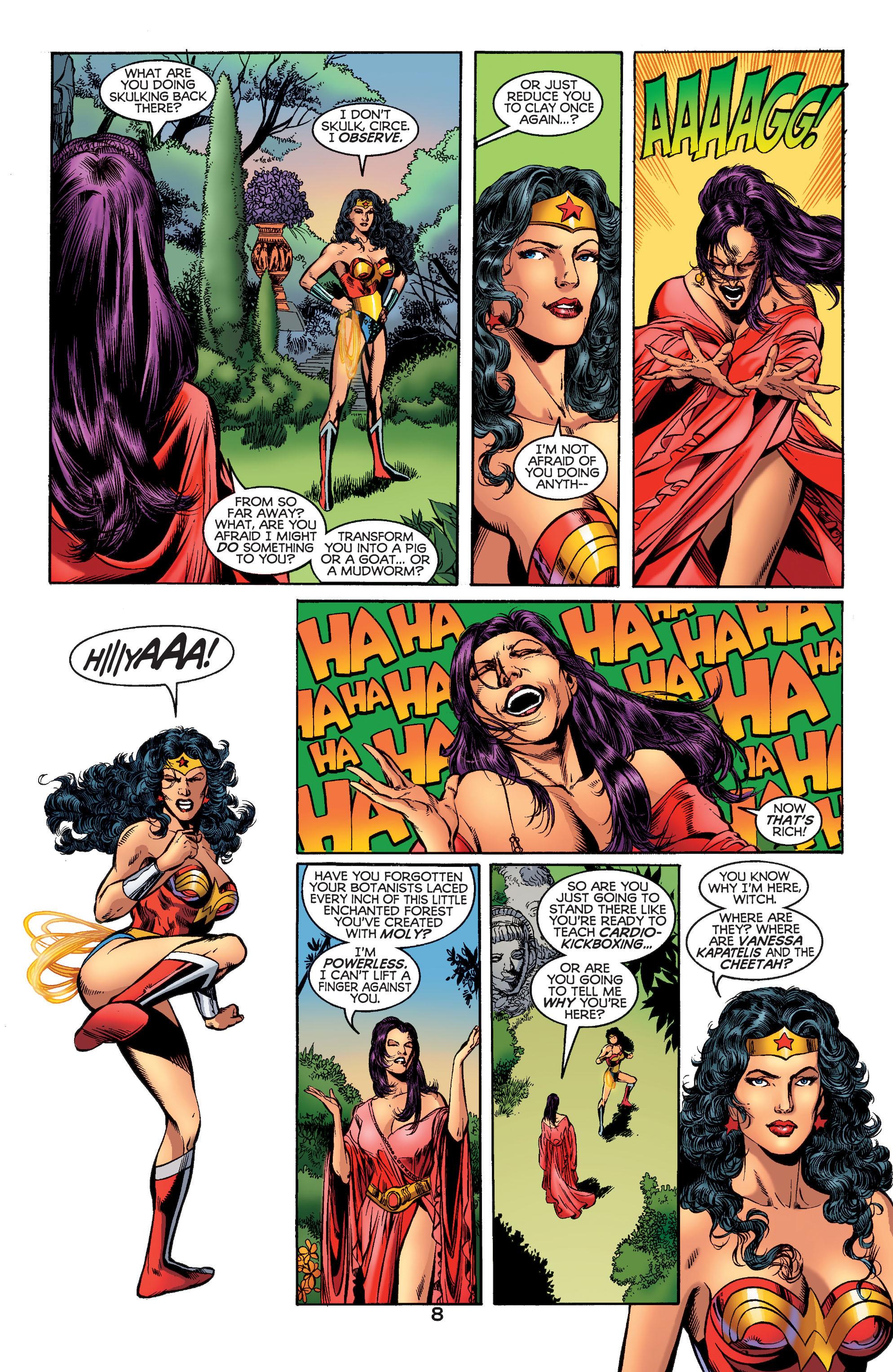 Read online Wonder Woman (1987) comic -  Issue #186 - 9