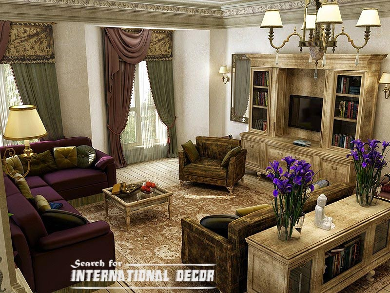 classic interior design, classic living room,newclassic interiors