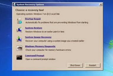 Cara Repair Windows 7 Tanpa Install Ulang