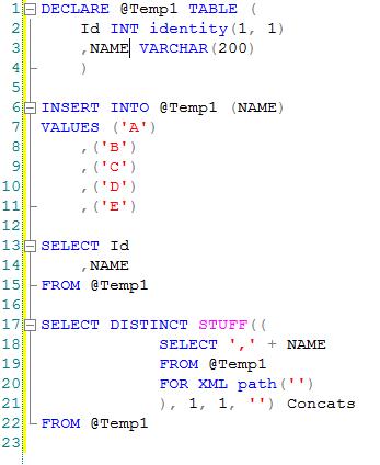 Learn C Asp Mvc Wcf Sql Angular Multiple Row Into Single Row Sql