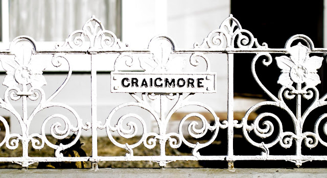 Craicmore fence in Cork, Ireland