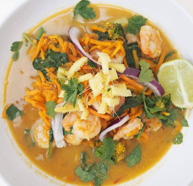 thai prawn curry recipe