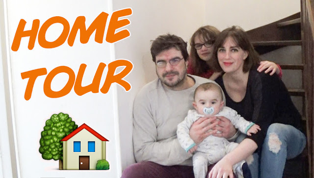 home tour, house tour, video, après déménagement, vlog, famille, bébé, ado, maman, papa, parents, visite, youtubeuse, auteur