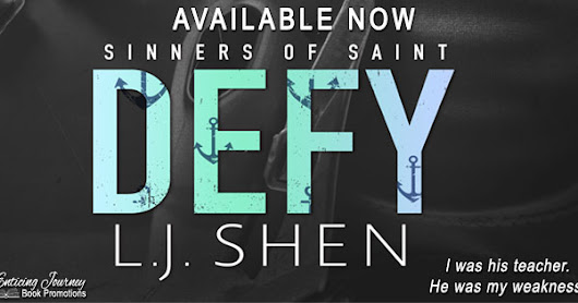 Release Day Blitz: Defy (Sinners of Saint #0.5) by L.J. Shen!