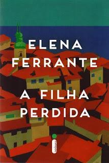 Capa do livro A Filha Perdida de Elena Ferrante