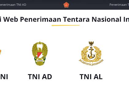 Pendaftaran Beasiswa TNI AD,AL,AU