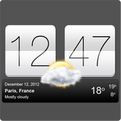 Sense V2 Flip & Weather APK