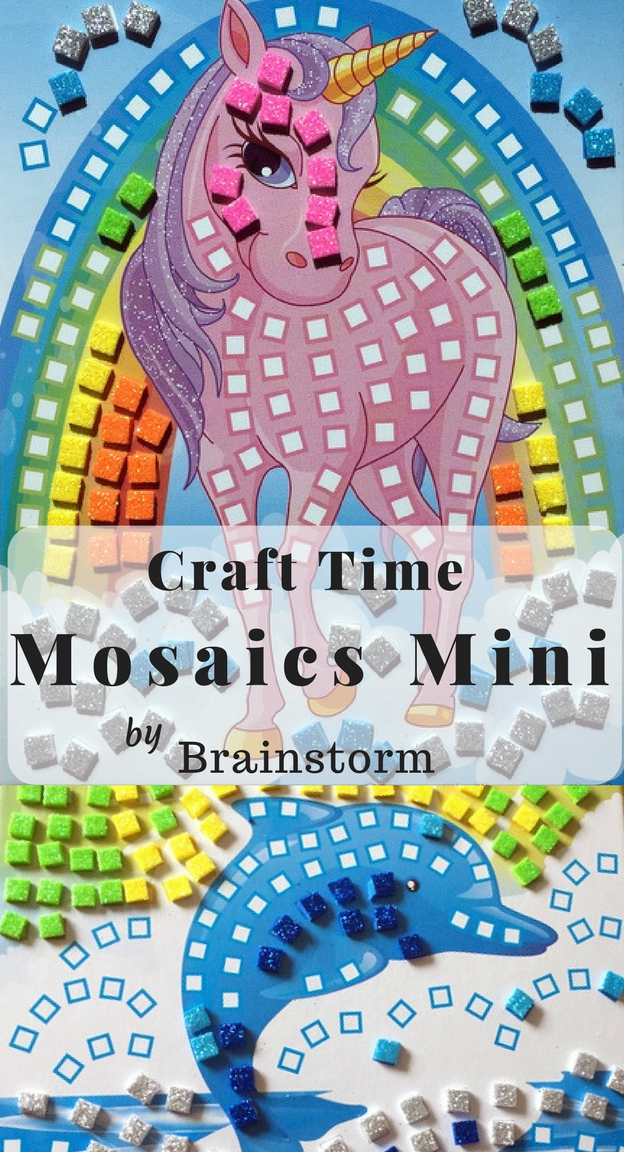 Craft Time Mosaics Mini by Brainstorm