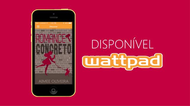 Romance concreto - Novo livro da Aimee Oliveira