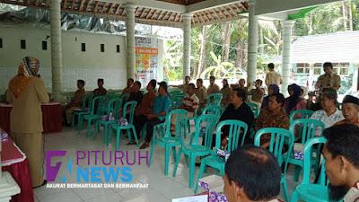 14 Desa Se-kecamatan Pituruh Adakan Sosialisasi dan Pembentukan Panitia Pemilihan Kepala Desa