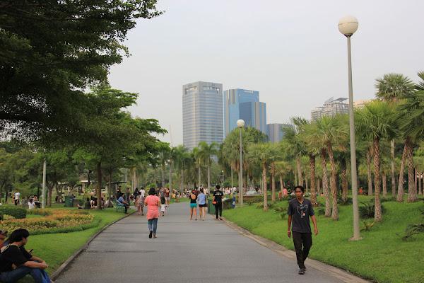 Parque de Chatuchak en Bangkok