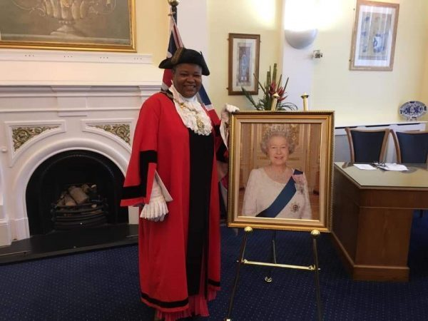 Another Nigerian, Victoria Obazie becomes Civic Mayor of London Borough