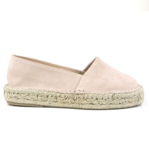 Seven Boot Lane Dido Nude Suede Espadrille