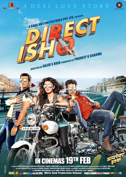 Poster Of Direct Ishq 2016 Hindi DVDScr Full Movie Watch Online And Download