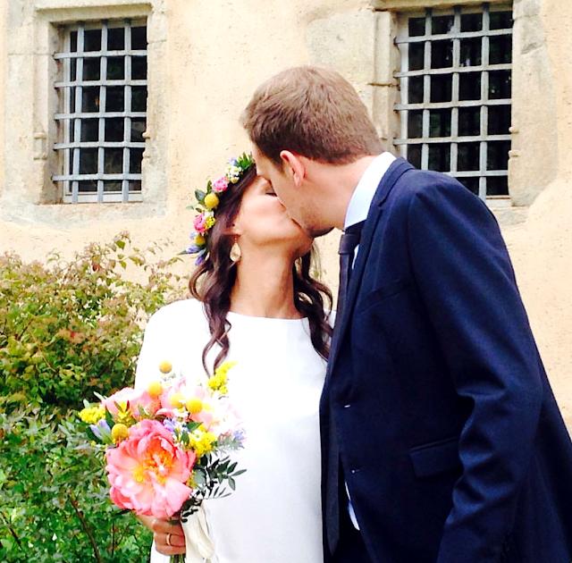Fleuriste mariage Lyon, fleuriste mariage Rhône, couronne de fleurs, bouquet de mariée