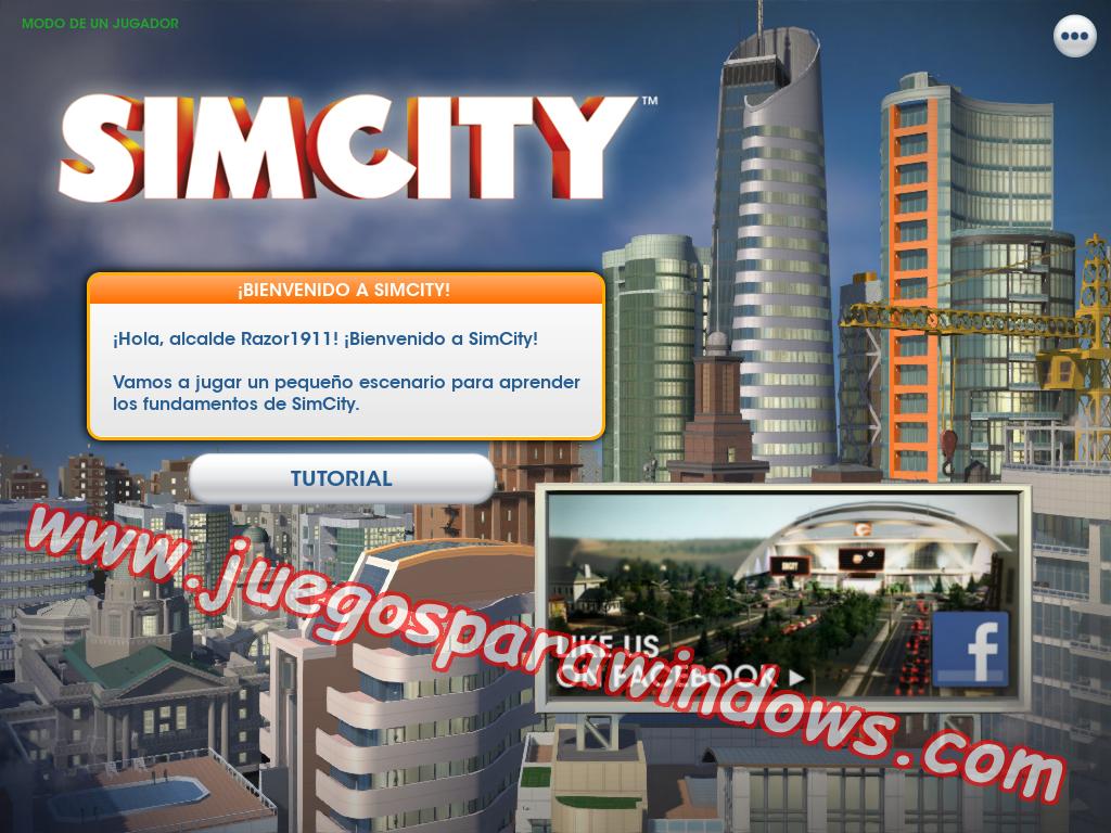SimCity Full PC ESPAÑOL (Razor 1911) 1