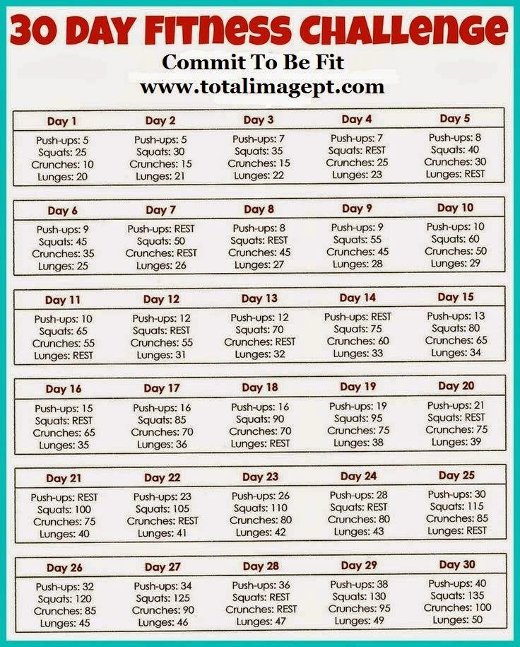 Running Escapades Workout Wednesday 30 Day Challenge