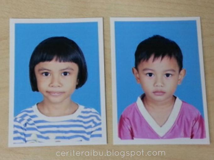 WW55 :: Gambar Passport Kakak dan Abang