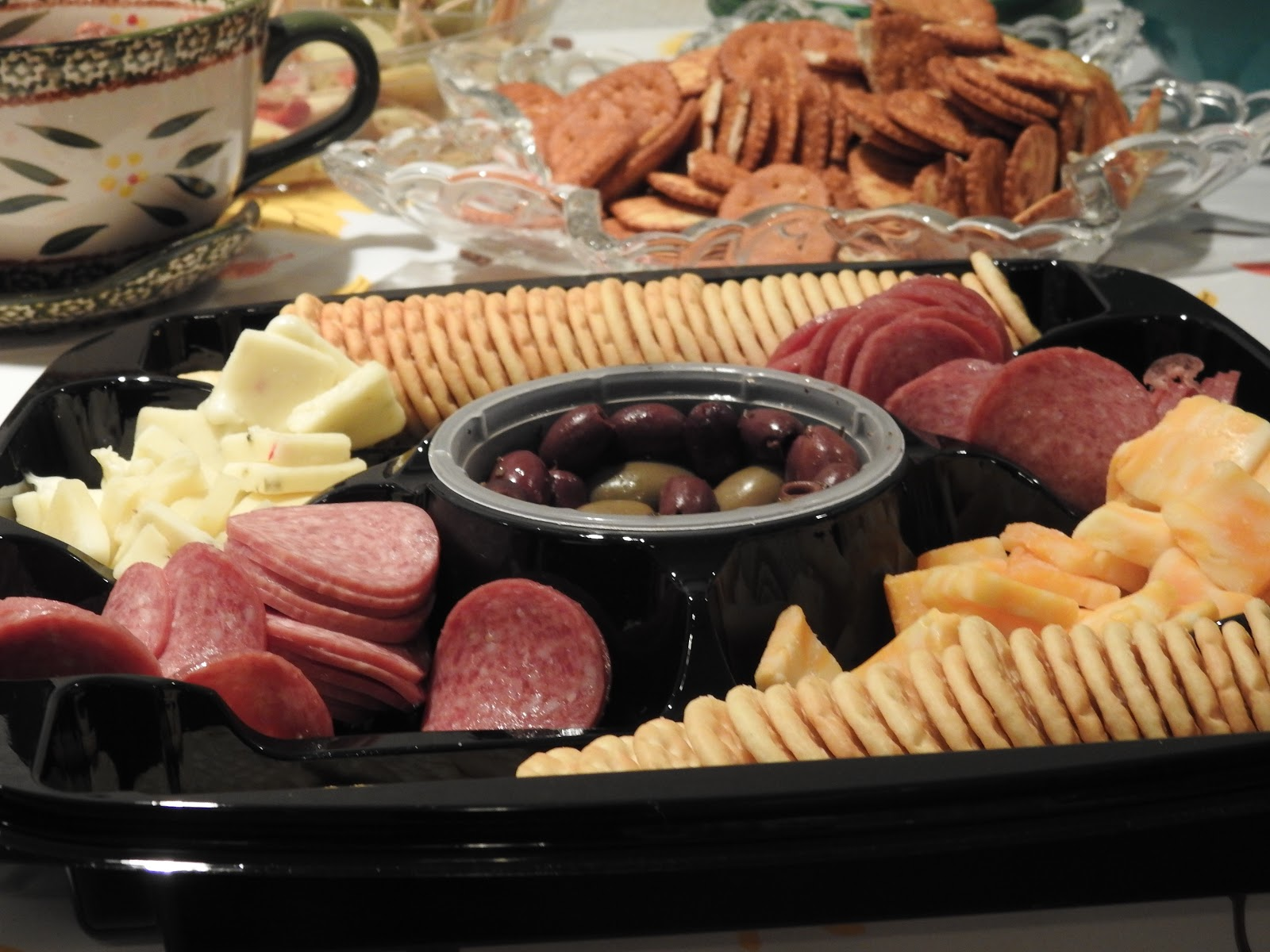 healthy party tray