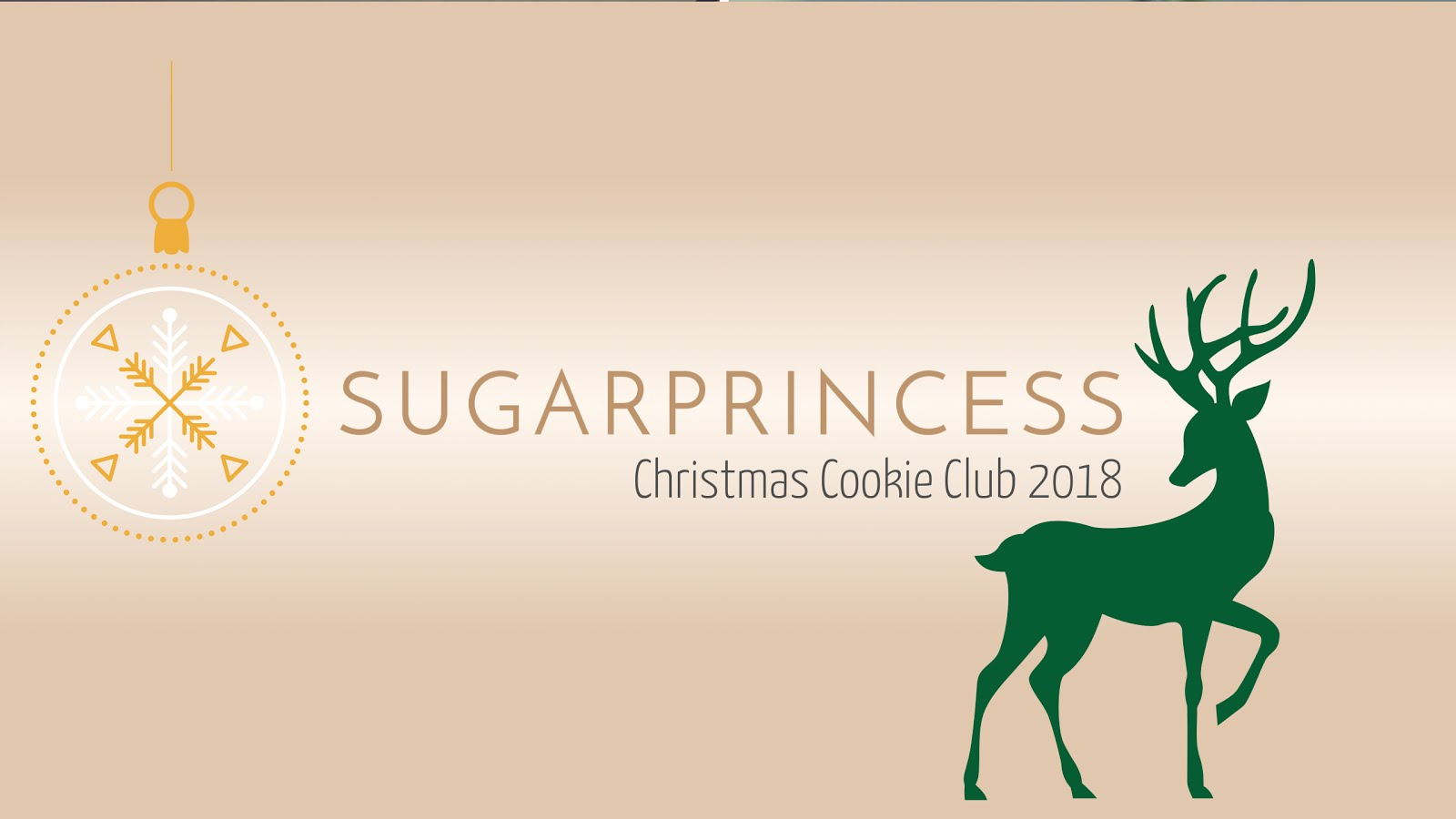The Sugarprincess Christmas Cookie Club 2018