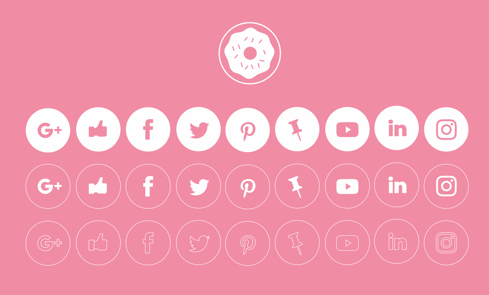 Free PSD Goodies and Mockups for Designers: FREE VECTOR SOCIAL ...