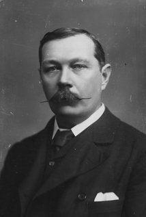 Arthur Conan Doyle. Director of The Hound of the Baskervilles
