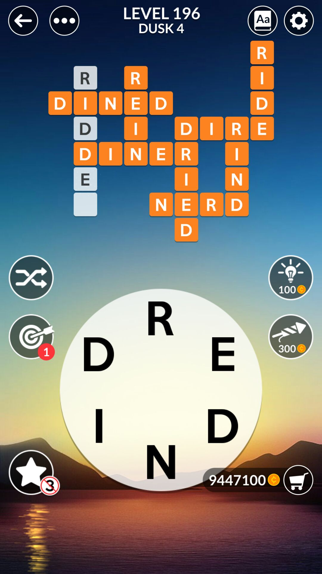 Wordscapes Level 196 Answers Doors Geek