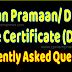 FAQ for Pensioners Regarding Digital Life Certificate (DLC)