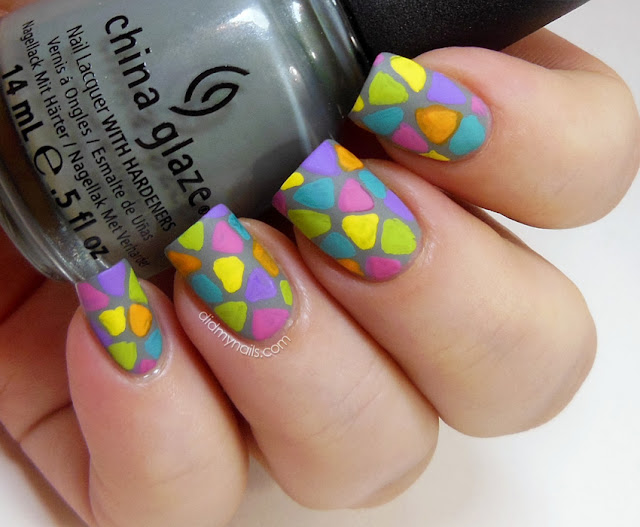 Triangle Nail Design