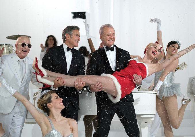 Bill Murray Channels Bing Frank For A Very Merry Christmas