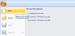 Tutorial Membuat Aplikasi dengan Access Bagian - 1