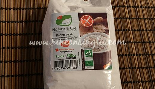 harina de arroz sin gluten celicity