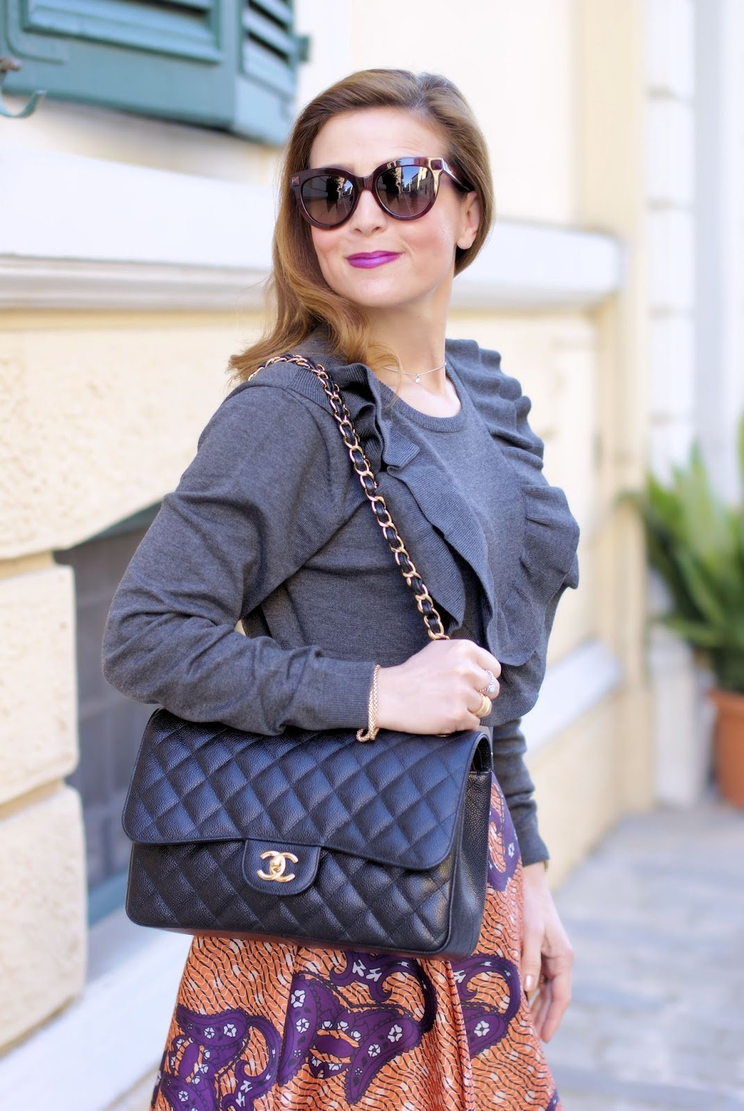 Chanel 2.55 bag on Fashion and Cookies fashion blog, fashion blogger style
