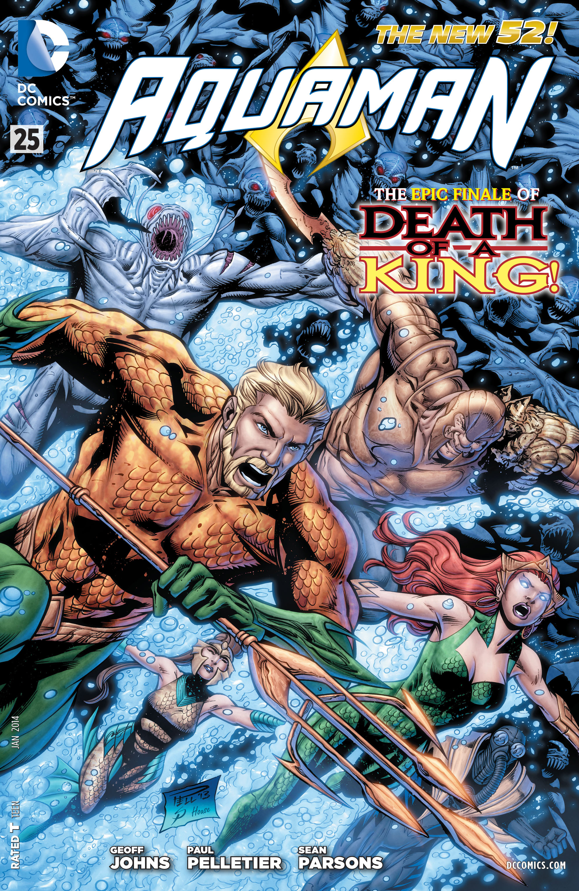 Read online Aquaman (2011) comic -  Issue #25 - 1