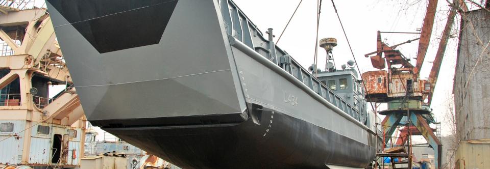 Десантний катер Сватове спущено на воду