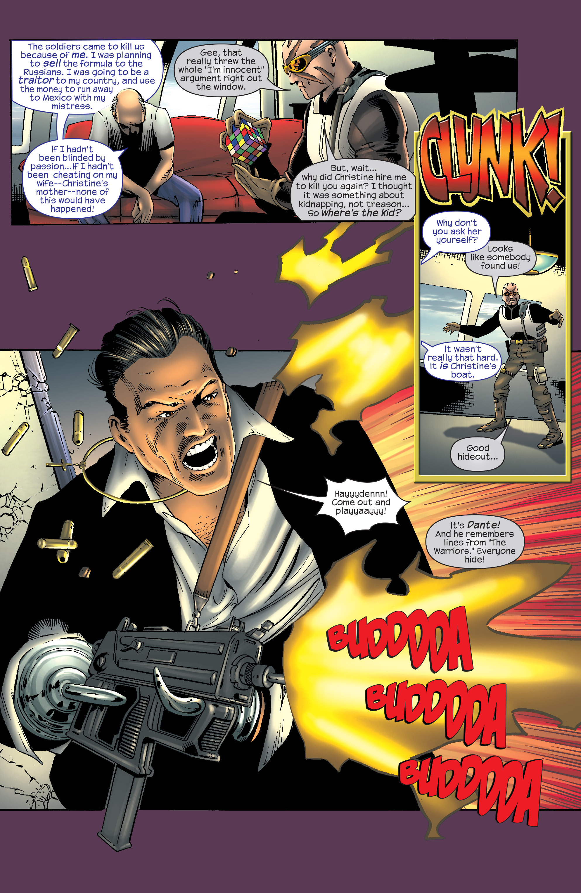 Read online Agent X comic -  Issue #9 - 16