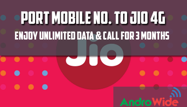 port mobile no to jio sim