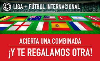 sportium Fútbol: Combinada Gratis 28-29 octubre