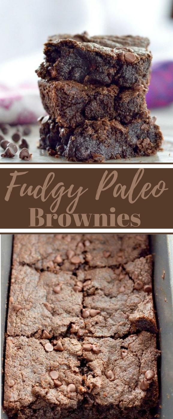 FUDGY PALEO BROWNIES #paleo #healthy
