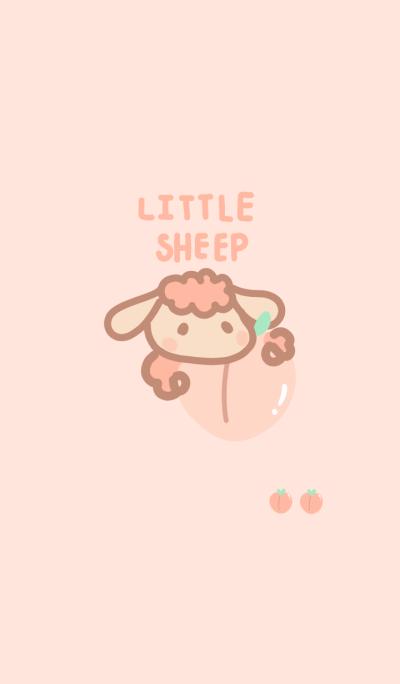 Little sheep peach