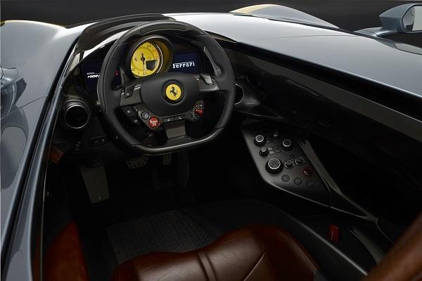 Interior Ferrari Monza SP1