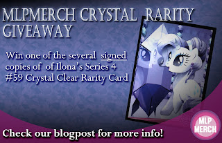 Signed Crystal Clear Rarity Trading Card Giveaway