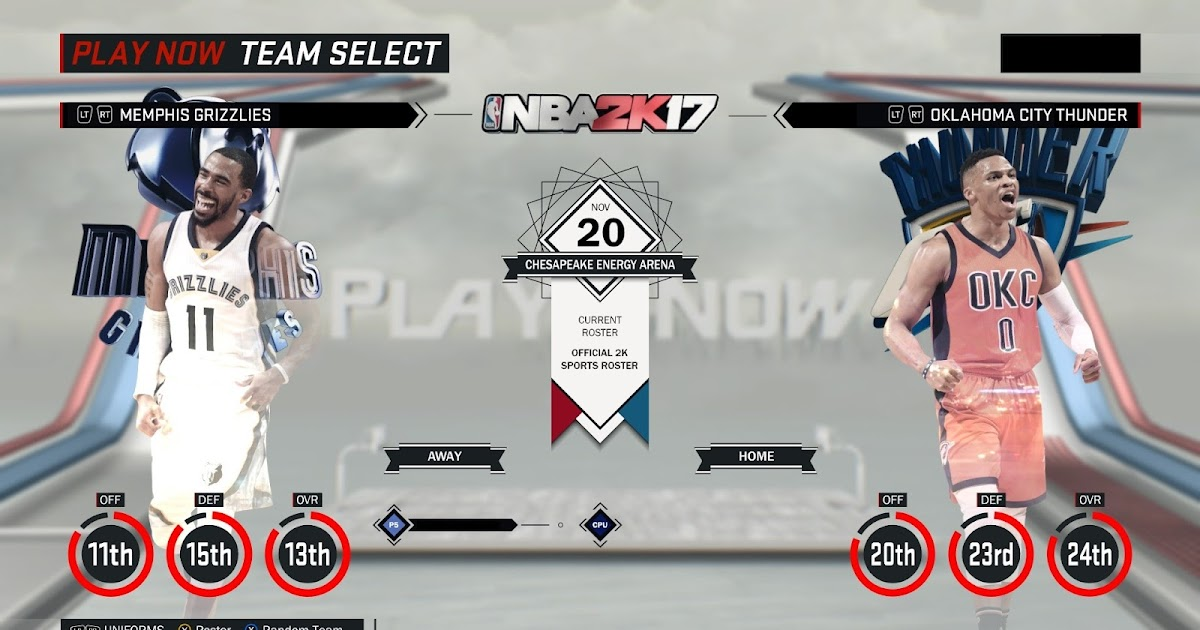 DNA Of Basketball | DNAOBB: NBA 2K17 Official Roster Update Nov-20-2016 Fixed