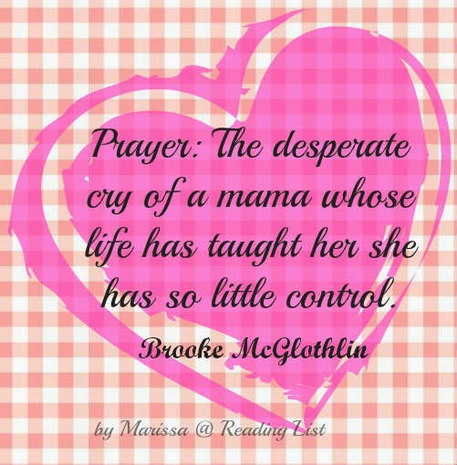 Prayer: the desperate cry... {Reading List}