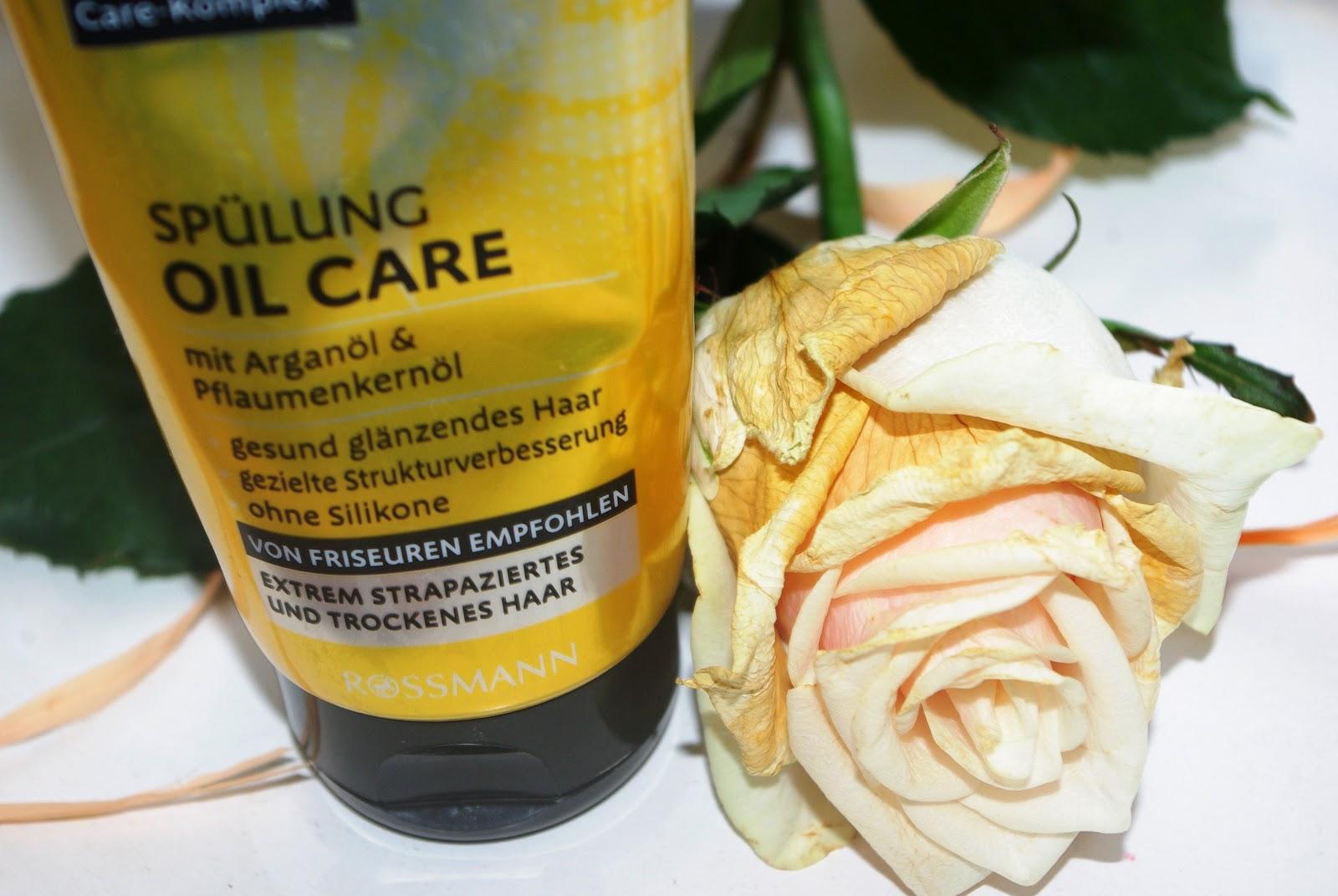 Isana Professional - Oil care (Kuracja do włosów z olejkiem arganowym)