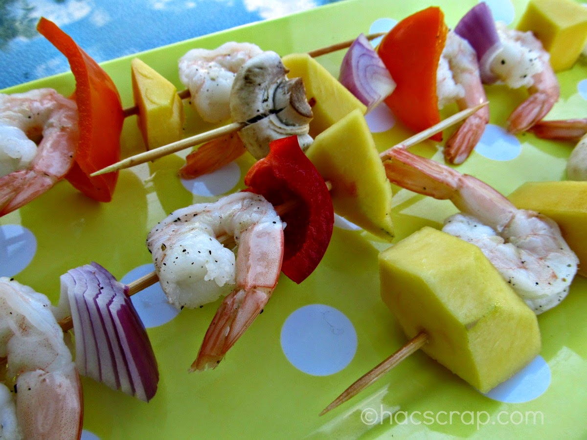 My Scraps | Shrimp Kabobs