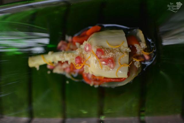Ensalada de conservas de alcachofas y vegetales tererecetas 01